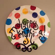 happy everything sale best cotton colors happy everything plate for sale in mobile