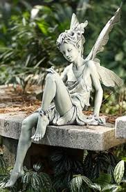 garden fairies come at dawn bless the flowers then they are gone