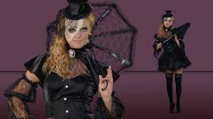 Broken Doll Halloween Costume Womens Victorian Doll Costume