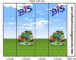 minecraft free printable candy bar labels is it for parties