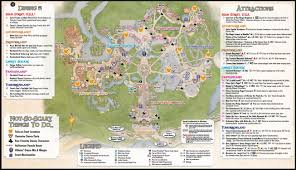 Map Of Disney World Magic Kingdom by Guide Maps Now Out For Mickey U0027s Not So Scary Halloween Party