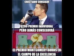 Memes De Cristiano Ronaldo - memes de cristiano ronaldo tras ganar el premio the best a mejor