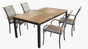 marvelous outside dining table and chairs wooden metal chair by