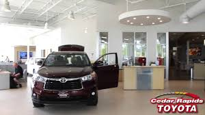 toyota dealership your brand new cedar rapids toyota dealership youtube