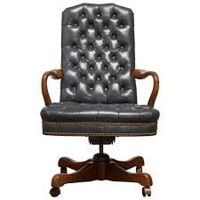 Tufted Leather Dining Chair Tufted Leather Desk Chair Dining Chairs Within Tufted Leather Desk