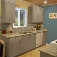 Kitchen Cabinets Painted Before And After Furniture Wooden Kitchen Cabinet With Storage And Drawer Plus