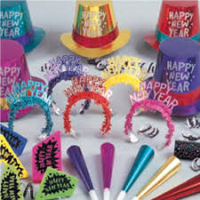 new years party box theme in a box new years theme party package