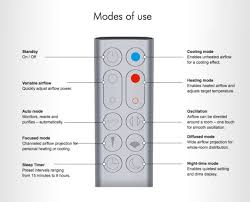 dyson fan remote replacement stay cool healthy with dyson s pure cool link air purifier