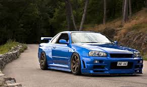 nissan skyline fast and furious paul walker self driving comps