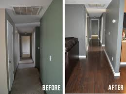 Cheap Laminate Flooring Calgary Before And After New Floors Allen Roth And Kitchens
