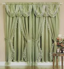 coffee tables lace curtains with attached valance lace priscilla