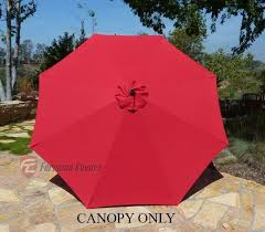 Replacement Patio Umbrella Brilliant Replacement Patio Umbrella Canopy 9ft 8 Ribs Replacement