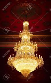 Antique Chandeliers The Huge Old Antique Chandelier From The Ceiling Of A Buddhist