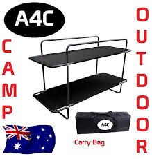 Double Bunk Bed Stretcher Camping Outdoor Bed  AUD - Oztrail bunk bed
