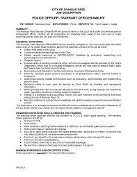 warrant officer resume examples 11 job description templates free premium templates police warrant officer job description example template free download