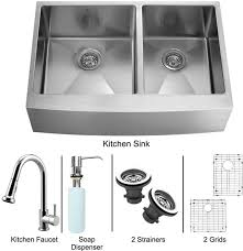 vigo kitchen faucet vigo industries vg15265 36 inch farmhouse stainless steel