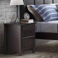 Shaker Style Nightstand Shaker 2 Drawer Nightstand U2013 Grain Wood Furniture