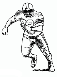 Football Player Coloring Pages Free Printable Football Player Coloring Pages To Print And Color