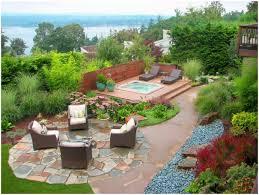backyards wonderful brilliant ideas for backyard gardens also
