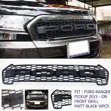 front grill ford ranger 4x4 front black grille for 4d ranger t6 wildtrak truck