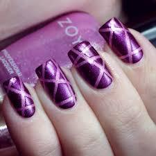 beautiful purple nail designs