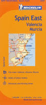 Spain Map Michelin Spain Regional East Valencia Murcia Map 577 Karen