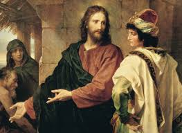 Image Of Christ by Christ And The Rich Young Ruler