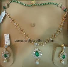 simple diamond sets simple 24 grams diamond set jewellery designs