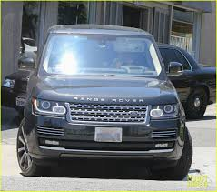 tiffany blue range rover jennifer aniston works on her fitness in west hollywood photo