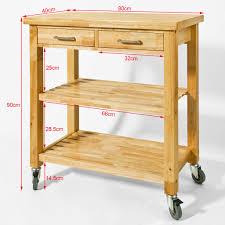 beistellwagen küche kuchenbeistellwagen holz hervorragend details zu kuchenwagen