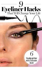 How To Shape Eyebrows With Concealer 9 Eyeliner Tricks That Will Change Your Life Or At Least Save You