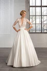 beige wedding dress beige a line three quarter wedding dresses with appliques