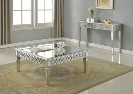 Mirrored Dining Room Table Sophie Mirrored Console Table
