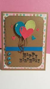 diy homemade birthday card idea happy mail craft ideas
