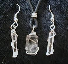 natural quartz crystal necklace images Sandi pointe virtual library of collections jpg
