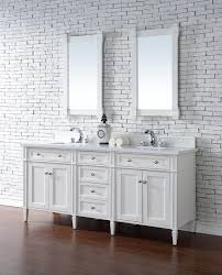 72 Bathroom Vanity Double Sink by Contemporary 72 Inch Double Sink Bathroom Vanity Cottage White