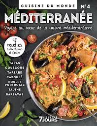cuisine du monde 7 jours collection 4 cuisine du monde méditerranée tva