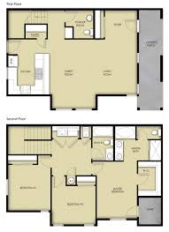 Floor Plan Homes by 3 Br 2 5 Ba 2 Story Floor Plan House Design For Sale Albuquerque