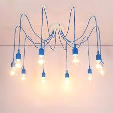 Diy Pendant Lights Lukloy Diy Pendant Light L Colorful Cords Spider