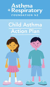 child asthma action plan asthma foundation nz