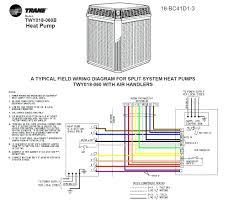 fridge freezer thermostat wiring diagram trane split system