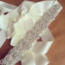 wedding sashes and belts 2018 handmade rhinestone wedding sashes belt bridal beaded wedding