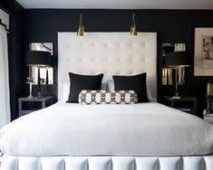 Painted Headboard Ideas 41 Sensational Interiors Showcasing Black Painted Walls Black
