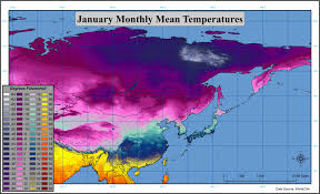 Siberia On World Map by Just How Much Colder Is Siberia Climate Warm Average