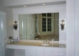 Beveled Bathroom Mirrors Beveled Wall Mirror Interior4you