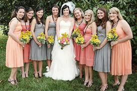 pittsburgh wedding photographer bridesmaid dresses mixed colors
