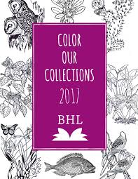 color our collections biodiversity heritage library