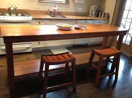 how tall is a bar table tall island for your home modern design bar gorgeous long table