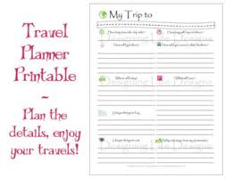 printable vacation journal pages vacation planner magical theme park trip organizer mini