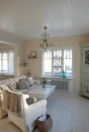 Cottage Livingrooms Living Room Whitewashed Cottage Chippy Shabby Chic French Country